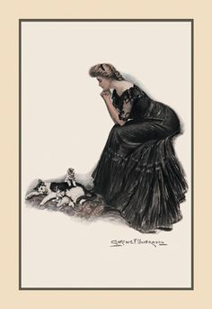 Minding the Felines, by Clarence F. Underwood