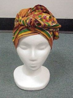 Step 6 How to tie african headwrap.