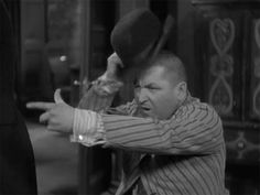 """""""Stooged Birthday to Curly Howard October 1903 His wife, Valerie Newman and their daughter - Janie in Irrepressible member of the Three Stooges comedy team. The Three Stooges, The Stooges, Classic Tv, Classic Movies, Abbott And Costello, Classic Comedies, Laurel And Hardy, Star Show, Old Tv Shows"""