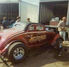 Vintage Drag Racing - 33 Willys