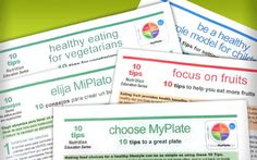 Great tips and tools to help kids learn about how to make healthy choices and fuel up right!  #healthy #eating #kids #food #myplate #exercise #activity