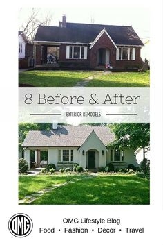 Curb Appeal – 8 Stunning Before & After Home Updates