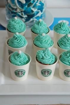 I want coffee starbucks cupcakes with caramel icing for my bdddddaaaaay