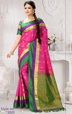 80c7d7633 Gift Art Silk Saree - GAS3020 South Indian Sarees, Coimbatore, Art Silk  Sarees,