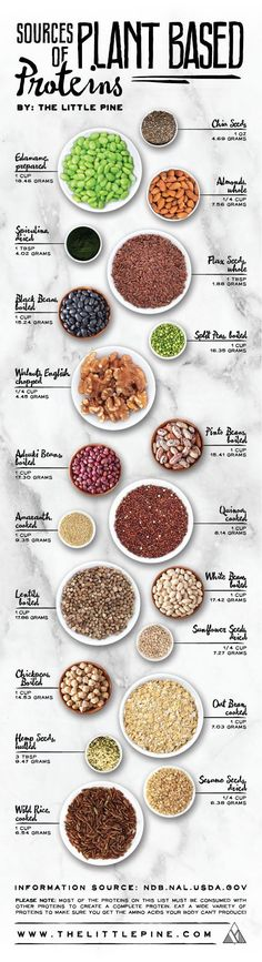 If you are a vegan, you can totally get all your protein needs met by eating a whole food plant-based diet. Many vegan athletes have proved this point, but you need to be smart about where to find out. Thats why this vegan, plant-based protein chart is re