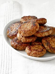 Spiced Maple Sausage Patties: These unique breakfast patties from Food Network Magazine are loaded with sweet and spicy flavors.