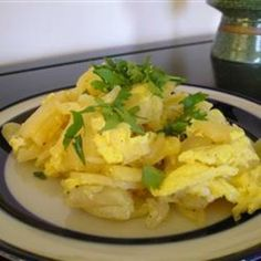 Spanish Potato Omelet
