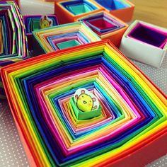 #box #origami #chinhako - @chinhako- #webstagram