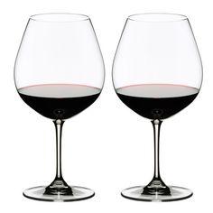 39fd54625f2c Riedel Vinum Burgundy Wine Glass 2pc Fancy Wine Glasses