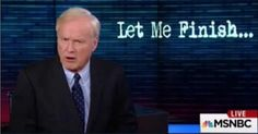 """For those who applauded him (Trump) today, cheered at his insinuation that the President hides himself as a defender of Islamist terrorism, I can only say this,"" Chris Matthews said. ""You should be ashamed. None of us should applaud this 21st century McCarthyism, this cheap insinuation against a fellow American backed up by nothing but hate."" Chris Matthews did not mince words today."