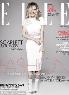 Scarlett Johansson for Elle magazine UK edition