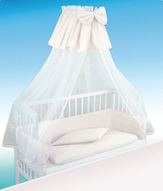 A co-sleeper is a baby bed that attaches to one side of an adult bed. It allows baby to remain close to the parents at night without actually being in the adult bed (which can be dangerous sometime… Bedside Cot, Co Sleeper Crib, Waterbed, Foam Mattress, Other Rooms, Baby Cribs, Rocking Chair, Bassinet, Canopy