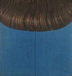 Kaleidoscope - Domenico Gnoli, Red Hair on Blue Dress, 1969 ...