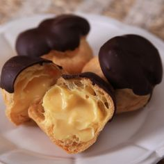 Profiteroles, just had these at an irish pub and had to pin it!