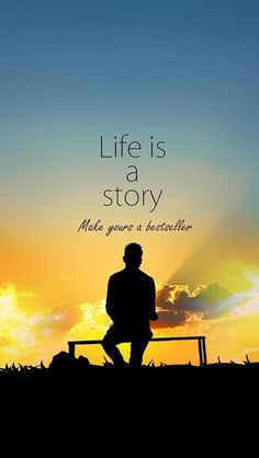 Life is a Story - Beautiful Picture Quotes about motivation, life Inspirational Quotes Wallpapers, Motivational Quotes Wallpaper, Wallpaper Quotes, Story Quotes, Words Quotes, Me Quotes, Funny Quotes, Sayings, Qoutes