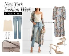 """""""Style Edit: NYFW Street Style"""" by withlovehayley on Polyvore featuring Zimmermann, The Row, Jimmy Choo, Chloé and Pamela Love"""