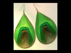 DIY Learn How to Make Peruvian Thread Earrings and Pendants
