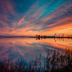 Sunrise in Rockport, Texas