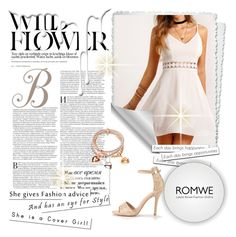 """""""ROMWE - 5"""" by elmat ❤ liked on Polyvore featuring Nivea"""