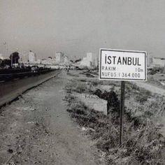 Topkapı... İstanbul'un girişi. (1950'li yılların başı)