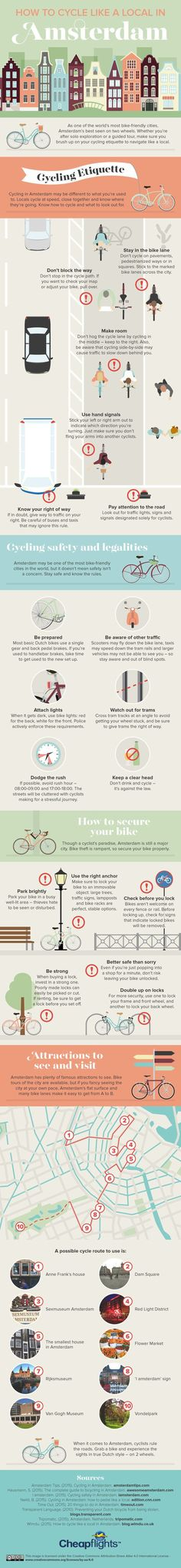 How to survive biking in Amsterdam (or really any major city)