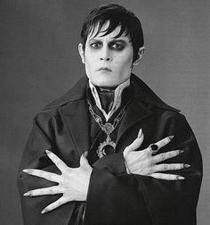 Johnny Depp as Barnabas in Dark Shadows