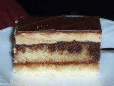 Czech Recipes, Ethnic Recipes, Czech Desserts, Sweet Recipes, Cake Recipes, Cake Bars, Sweet And Salty, Nutella, Deserts