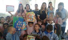 Los intermedios visitaron llenos de regalos, al Jardín Nº 957 de su ciudad, donde compartieron una linda tarde con los chicos.