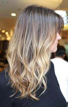 Ombre to prevent dishwater blonde from getting too drab.