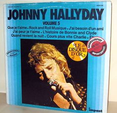 JOHNNY HALLYDAY -  Volume 5 *Impakt 6886186* *LP* MINT