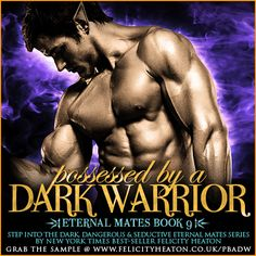 A POWERFUL DARK ELF WARRIOR ON THE HUNT. A DRAGON SHIFTER ON THE RUN. IS THE BEAUTIFUL TARYN AN ENEMY OR THE FOREVER AFTER BLEU HAS BEEN WAITING FOR?  POSSESSED BY A DARK WARRIOR, book 9 in my Eternal Mates romance series, is available now and I'm holding an international giveaway where you could win $150 in Amazon Gift Cards! Giveaway closes April 24th  ALL THE LINKS, MORE INFO & ENTER THE GIVEAWAY AT: http://www.felicityheaton.co.uk/possessed-by-a-dark-warrior-paranormal-romance-novel.php