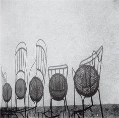 binia bill- sombras de sillas by Aiert, via Flickr