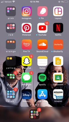 Organize Apps On Iphone, Application Iphone, Iphone App Layout, Phone Themes, Iphone Hacks, Phone Organization, Organizer, Homescreen, Photos