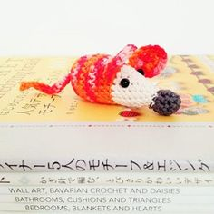 Crochet Mouse by annemariesbreiblog on Etsy, €4.50