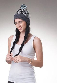 Women Hat, Fair Isle knit hat, Merino Wool Hat, Womens knit Beanie, Womens knit Hat, Women Beanie, bobble hat, bobble beanie hat, pompom Hat .