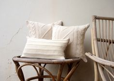 Handmade Australian wool, cable knit scatter cushions by Boodle Concepts  http://boodleconcepts.com.au/homemade.htm
