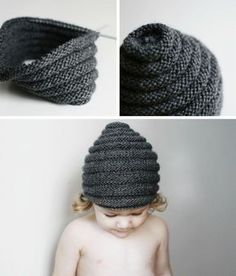 Beehive beanie for blog - Free pattern from blog - twoandsix