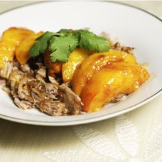 Pulled Pork w/ Balsamic Peaches – The Foodee Project