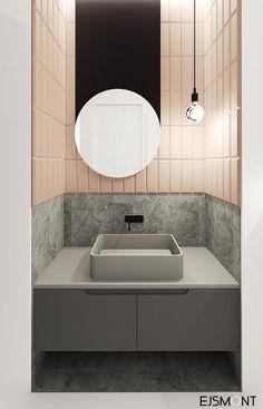 42 Super Creative DIY Bathroom Storage Projects to Organize Your Bathroom on a Budget - The Trending House Washroom Design, Bathroom Interior Design, Modern Interior Design, Kitchen Design, Design Interiors, Beautiful Bathrooms, Modern Bathroom, Small Bathroom, Bathroom Toilets