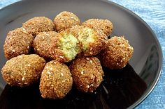 Falafel (from Munaty Cooking)