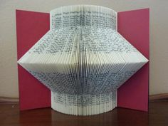 Just By Josephine: Book Folding Book Lamp, Book Folding, Library Books, Antique Shops, Art Techniques, Good Books, Lanterns, Origami, Visual Arts