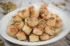 Tökmagos pogi, ami még másnap is puha marad. Potato Salad, Shrimp, Potatoes, Meat, Ethnic Recipes, Food, Cakes, Cake Makers, Potato