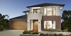 Dennis Home Designs: Churchill - Facade Option 1. Visit www.localbuilders.com.au/builders_nsw.htm to find your ideal home design in New South Wales
