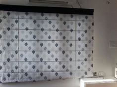 Roman Blinds with Border