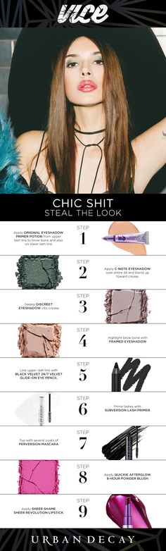Steal our Chic Shit look with Vice4 and MINKPINK #chicshit #colorunleashed