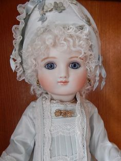 ANTIQUE REPRODUCTION A SERIES STEINER PORCELAIN DOLL
