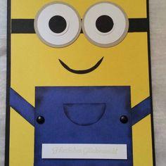 Minion Geburtstags Karte für  meinen Neffen