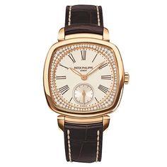 Patek Philippe Ladies' Gondolo Manual Rose Gold & Diamonds (7041R)