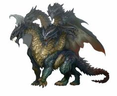 Epic hydra dragon!