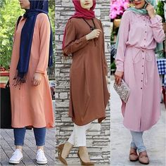 Which blouse do you like? Prices & Links to shop are listed on the blog now   www.hijabfashioninspiration.com/long-blouses
